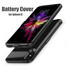 For iPhone X Battery Case 5200mah Portable Power Bank External Backup Charger