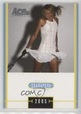 2005 Ace Authentic Special Edition Japan Base #MS-6 Maria Sharapova Tennis Card