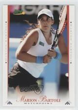 2008 Ace Authentic Matchpoint Blue #9 Marion Bartoli Tennis Card