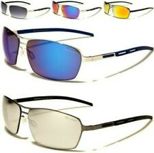 NEW X-LOOP SUNGLASSES MEN LADIES AVIATOR METAL GOLF SPORT RUNNING FISHING UV400