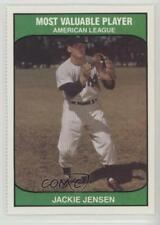 1985 TCMA Most Valuable Player American League #JAJE Jackie Jensen Baseball Card