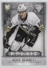 2013-14 Panini Titanium Retail #204 Beau Bennett Pittsburgh Penguins Hockey Card