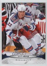 2011-12 Upper Deck #79 Brian Boyle New York Rangers Hockey Card