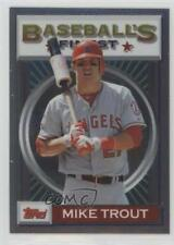 2013 Topps Finest 1993 Design 93F-MT Mike Trout Los Angeles Angels Baseball Card