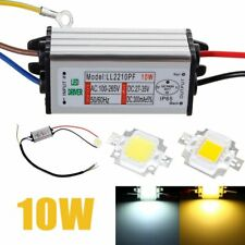 10W High Power LED Driver Supply for Cool/Waim White LED Chip Bulb Waterproof