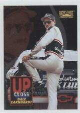 1996 Pinnacle Racer's Choice Up Close with #6 Dale Earnhardt Racing Card