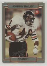 1990 Action Packed Rookie Update #27 Johnny Bailey Chicago Bears Football Card