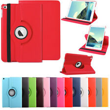 360 Rotating PU Leather Smart Cover Case Swivel Stand For Apple iPad Air / Air 2