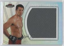 2012 Topps UFC Finest Jumbo Threads #JFT-CS Chael Sonnen MMA Card