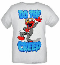 NEW Sesame Street Muppets ELMO Do the Creep Dance Club T-Shirt Tee Men's L & XL