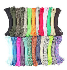 550 Paracord 7 Strands MIL SPEC TYPE III Camping Bushcraft Survival Lanyard Rope