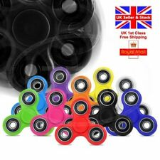 Fidget Hand Finger Tri Spinner EDC Bearings Pocket Toy Gadget Stress ADD ADHD