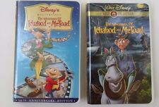 THE ADVENTURES OF ICHABOD AND MR. TOAD~VHS~DISNEY~YOU CHOOSE VERSION~1+ SHIP