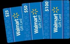 WALMART GIFT CARDS (Basic Blue) - $25 $50 $100 - FAST SHIPPING - Discount for 2+