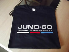 RETRO SYNTH T SHIRT SYNTHESIZER DESIGN JUNO 60 COLOUR S M L XL XXL
