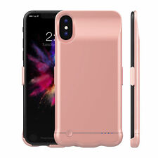 iPhone X Battery Case 5200mAh External Battery Portable Power Bank Charger Cover