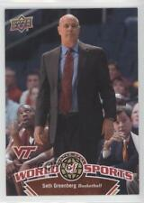 2010 Upper Deck World of Sports #375 Seth Greenberg Virginia Tech Hokies Card