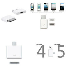 Micro USB Charging Converter Adapter For Apple iPhone 4 5 5S 6 Plus iPod