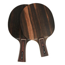 Super Hard Ebony Wood Table Tennis Racket Ping Pong Blade 7 Ply For High Speed
