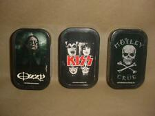 LOT OF 3  KISS, MOTLEY CRUE, OZZY REFILL BUTANE LIGHTERS NEW #1
