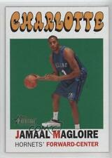 2000-01 Topps Heritage #43 Jamaal Magloire Charlotte Hornets RC Basketball Card
