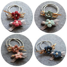 Hair Ring Rope Cloth Headbands Ties Hair Accessories Flower Hair Rubber bands