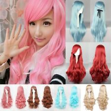 Cosplay Party Women Anime Hair Full Wig Heat Resistant For Costume Daily Dress #