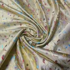 "Wholesale 10 Yards Br-617 Zen Floral BROCADE TAPESTRY FABRIC 36"" W"