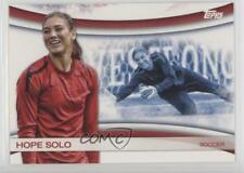 2012 Topps US Olympic Team and Hopefuls #OLY-10 Hope Solo Card