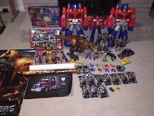 TRANSFORMERS Giant Lot of 47 Various Figures, Posters and Collectibles GREAT SET