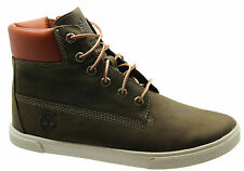 Timberland Slim Cupsole Kids Boots Junior Youth Green Lace Up kids 6799R 6779R