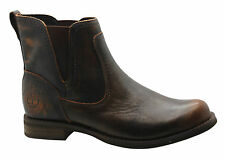 Timberland AF Savin Hill Chelsea Womens Boots Slip On Shoes Brown A11ZQ D123