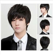 Fashion Handsome Men's Wigs Short Black Much Like Real Hair ! 2018 Brand New Wig