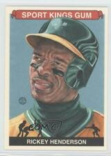 2012 Sportkings Series E #213 Rickey Henderson Oakland Athletics MultiSport Card