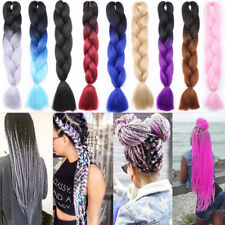 Synthetic Braiding Hair Havana Mambo Jumbo Braiding Hair Extensions Crochet AP