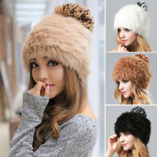 Fashion Women Ladies Faux Fur Hat Cossack Hat Winter Warm Outdoor Ski Cap Xmas
