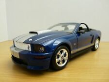 FORD MUSTANG SHELBY GT500 CABRIOLET bleu 1/18