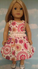 """Dress handmade to fit 18"""" American Girl Doll 18 inch Doll Clothes 13ab"""