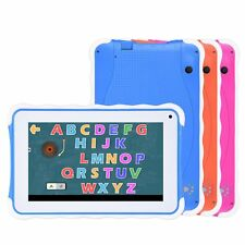New Quad Core 7'' Tablet PC 8GB HD Android 4.4 Dual Camera Bundle for Kids Gift