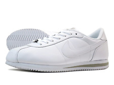 NEW IN BOX Mens Nike Air Cortez Classic Leather Triple/All White 316418-113