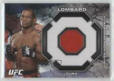 2013 Topps UFC Bloodlines Relics #BR-HL Hector Lombard MMA Card