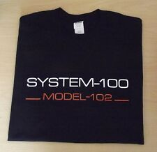 RETRO SYNTH SYSTEM 100 102 SEMI MODULAR SYNTH DESIGN ROLAND T SHIRT S M L XL XXL