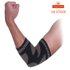 Copper Elbow Support Compression Sleeve Tommie Fit Arthritis Arm Brace Pad Hand
