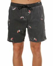 New Globe Men's Tropicool Mens Beach Short Cotton Elastane Black