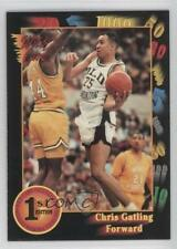 1992-93 Wild Card Collegiate #86 Chris Gatling Old Dominion Monarchs Basketball