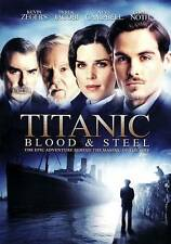 Titanic: Blood  Steel (DVD, 2012, 3-Disc Set)  New/Sealed w/Slipcover