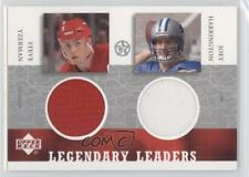 2002 2002-03 Upper Deck UD Superstars SY/JH-L Steve Yzerman Joey Harrington Card