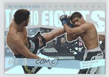 2009 Topps UFC Round 1 Top 10 Fights of 2008 #TT9 Wiman vs Tavares Matt Thiago