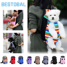 Travel Small Pet Dog Puppy Net Nylon Mesh Front Carrier Bag Backpack Tote Sling