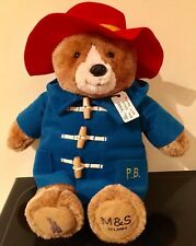 M&S Paddington Bear Teddy Plush Toy Limited Edition Collectable, Xmas, Sold out!